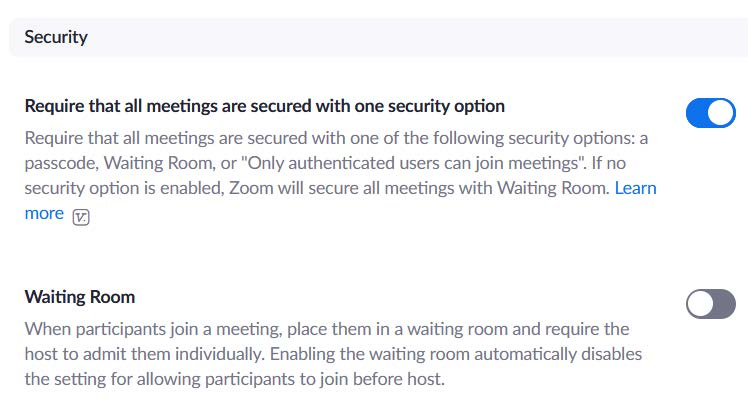 Zomm security tips image 2