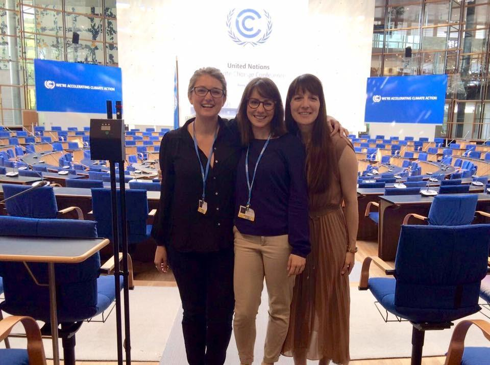 Land Economy Students at the UN Climate Change Negotiations