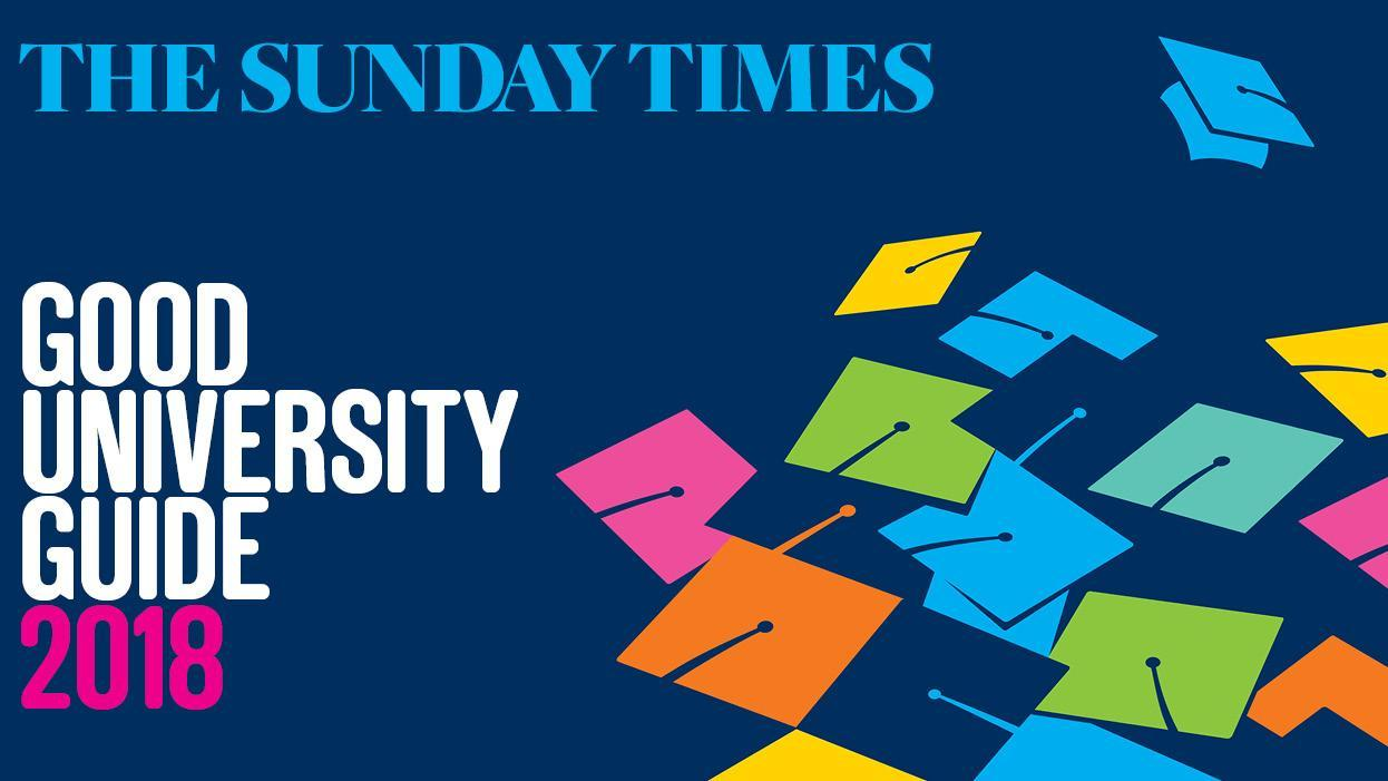 Land Economy tops the league tables in 2018 Times Good University Guide