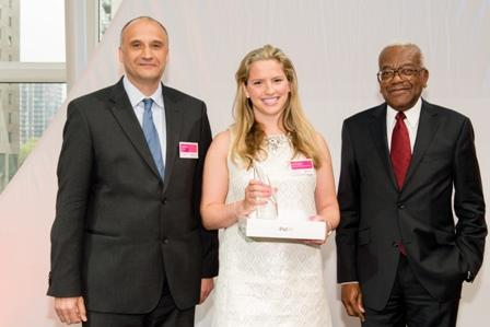 Land Economy student Courtney Gill wins the TARGETjobs Female Undergraduate of the Year award